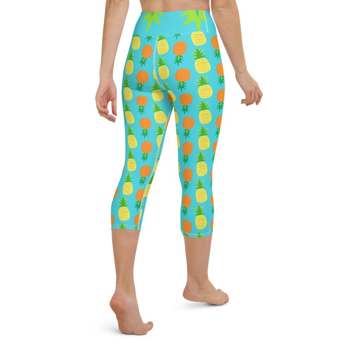 Yoga Capri Legging Pineapple - Sternitz
