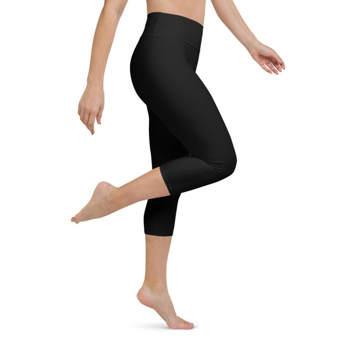 Yoga Capri Legging Black