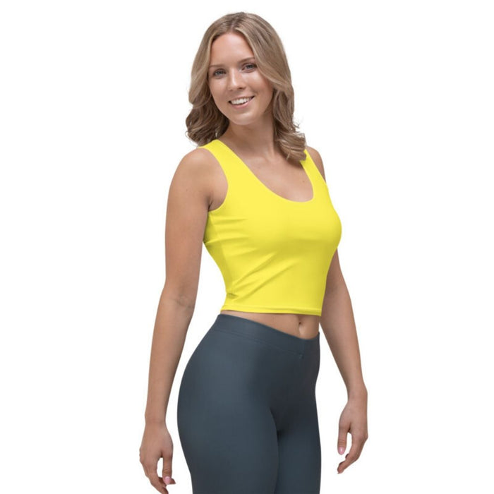 Crop Top Yellow - Sternitz