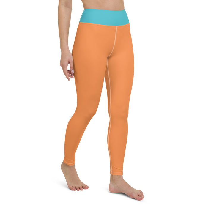 Yoga Leggings Naranja