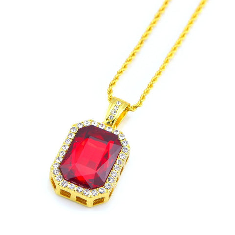 Ruby Crown Jewels Necklace