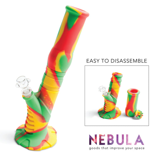Silicone Water Pipe - Rasta | Durable + Antimicrobial + Portable  sc 1 st  Nebula & Water Pipes | Nebula | Silicone Smoke Accessories u0026 Novelty Products