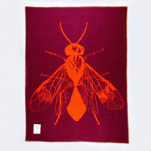 """The Blowfly"" Army Blanket"