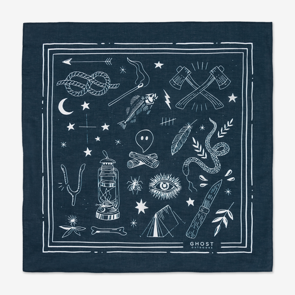 Midnight Bush Craft Bandana