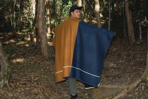 """Ochre Road"" Army Blanket"