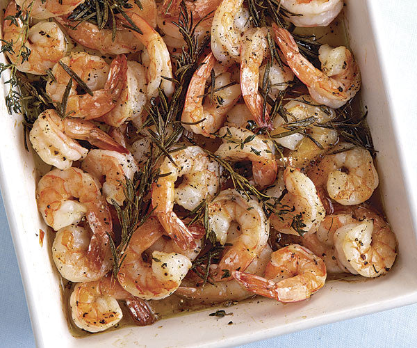Roasted Shrimp with A&A Toscana Dipping Oil