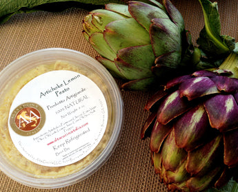 Add a unique Italian Flavor to your dishes with A&A Artichoke Lemon Pesto!