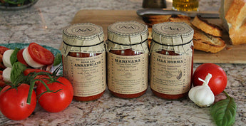 Fresh Homemade Italian Tomatoes Sauces