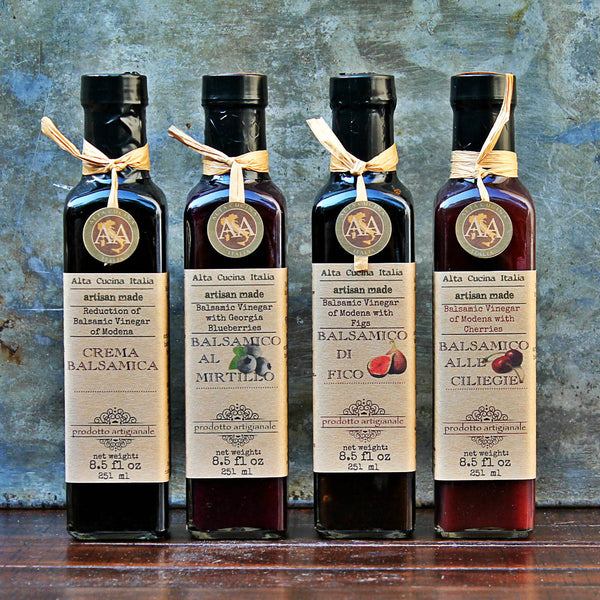 How can I use my A&A Balsamic Reductions Vinegar in my cooking?