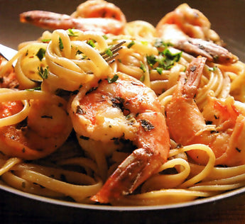 Shrimp Lemon Linguine