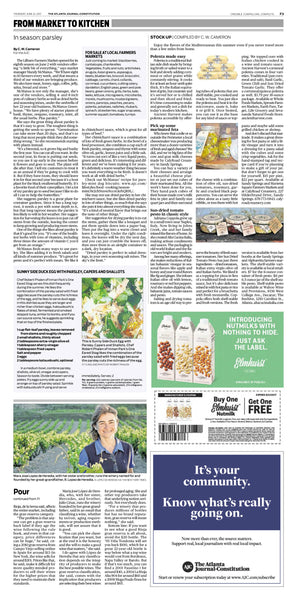 Sundried Tomato Pesto Alta Cucina Italia featured Atlanta Journal Constitution Jun 2017