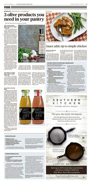 Napoli Dipping Olive Oil Alta Cucina Italia featured Atlanta Journal Constitution Nov 2017