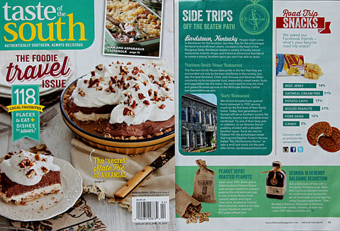 Taste of the South Magazine Dec 2015 Alta Cucina featured