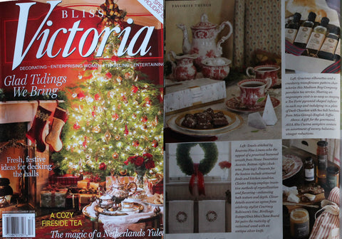 Bliss Victoria Magazine Dec 2015 Alta Cucina featured