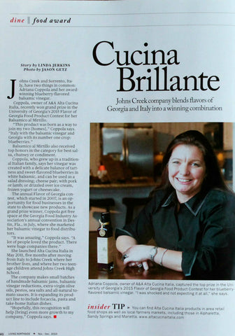 Living Northside Magazine Dec 2015 Alta Cucina featured
