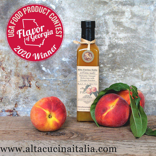 A&A GEORGIA PEACH BALSAMIC VINEGAR
