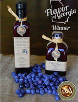 Award Winner Balsamic Vinegar - A&A GEORGIA BLUEBERRY  BALSAMIC VINEGAR