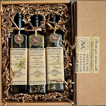 Balsamic Vinegar and Olive Oil Box Set
