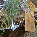 Eco friendly natural rustic gift baskets