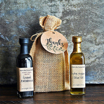 MINI OLIVE OIL & BALSAMIC PAIR - Customizable