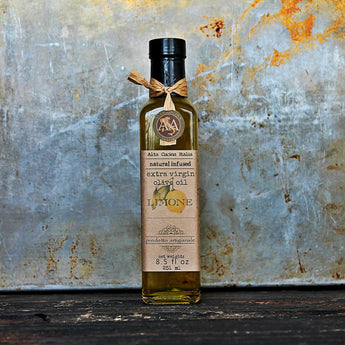 Lemon Infused Extra Virgin Olive Oil - Alta Cucina italia