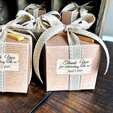 RUSTIC STYLE GOURMET SALT & DIPPING BOWL GIFT SET - Customizable