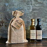 Rustic OLIVE OIL & BALSAMIC wedding pair