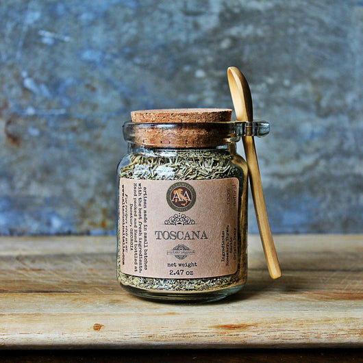 Salt - A&A TOSCANA SEASONING BLEND In A Jar