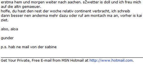 Hotmail tag lines: A signature example of a growth hack.