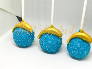 Dolphin Under The Sea Cake Pops