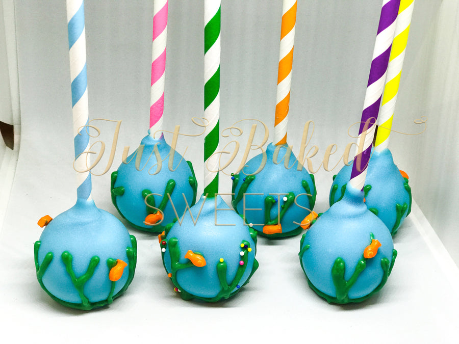 Fish Under The Sea Cake Pops
