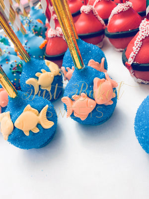 Kissing Fish Cake Pops