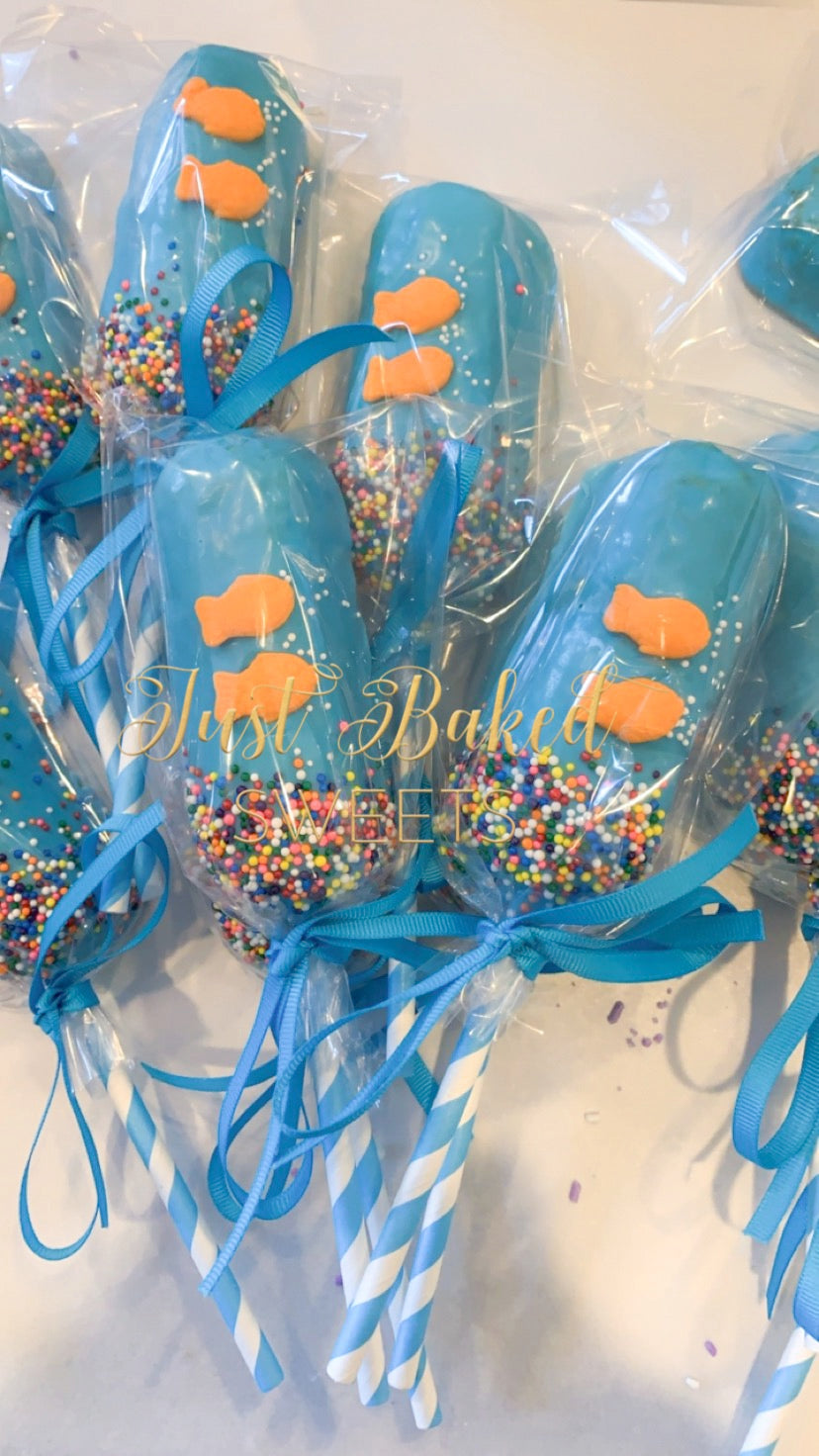 Under the Sea, Fish Chocolate Covered Twinkies