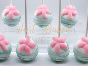 Under The Sea Starfish Cake Pops