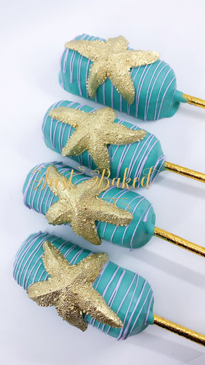 Star fish Chocolate Covered Twinkies