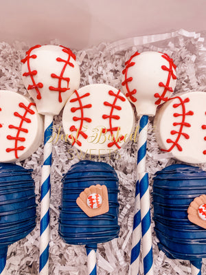 Baseball Theme Chocolate Covered Twinkies