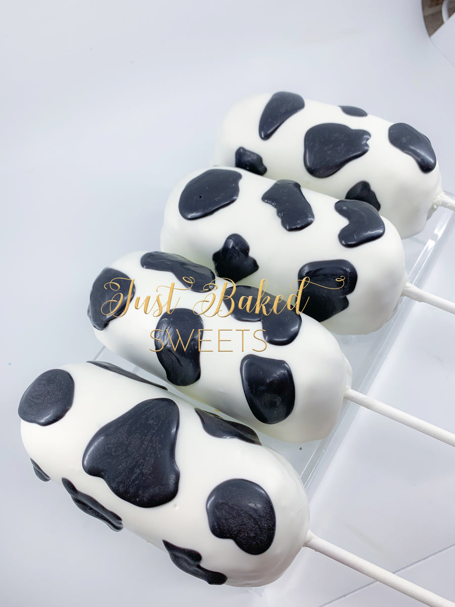 Cow Print Chocolate Covered Twinkies