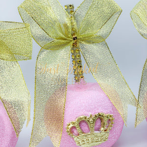 Pink Princess Royal Chocolate Covered Apples