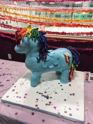 Rainbow Dash, My Little Pony 3D Cake