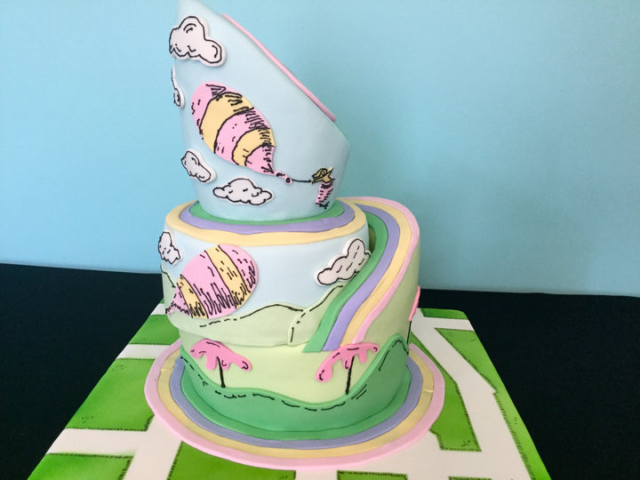 Dr. Seuss, Oh The Places You'll Go Graduation Cake