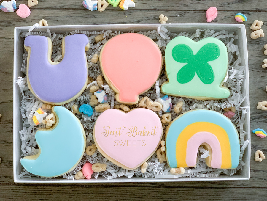Cerealsy Lucky Charm Sugar Cookies