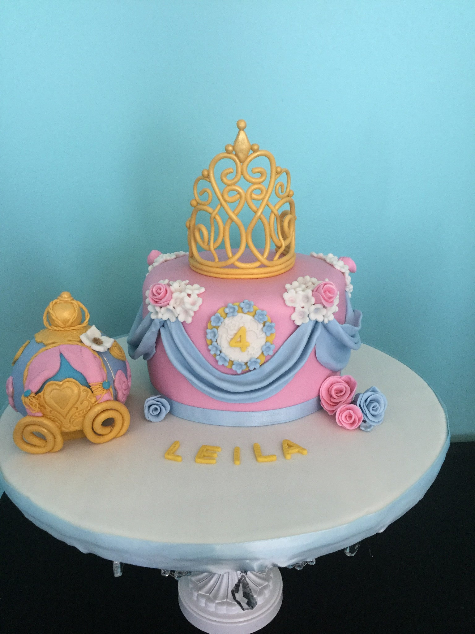 Cinderella Cake Just Baked Sweets