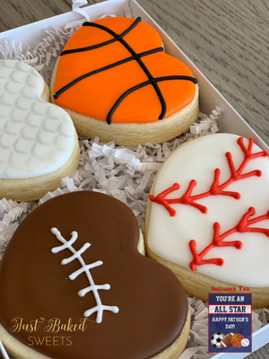 Father's Day ALL STAR Cookie Set