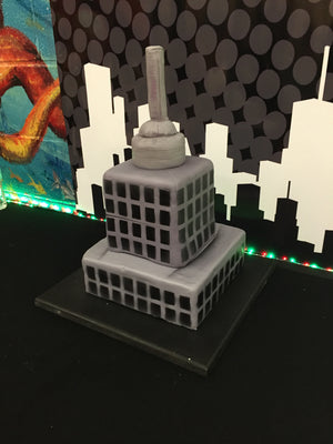 Empire State Building Cake