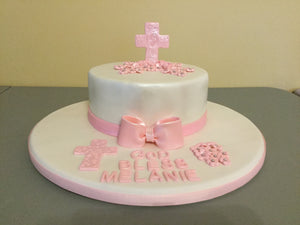 Shimmer Religious Occasion Cake