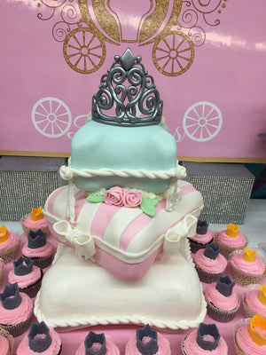 Princess Cushion Cake