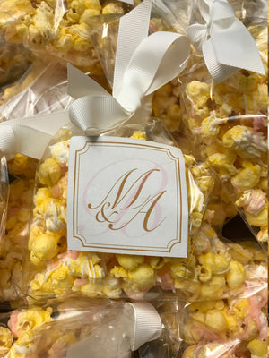 Wedding Favor Popcorn Bags