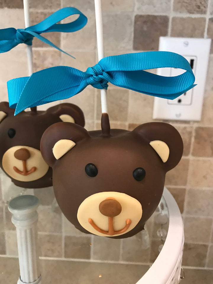 Teddy Bear Chocolate Covered Apples