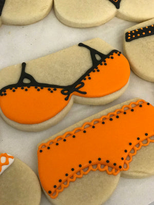 Bachelorette Party Bra and Panties Cookies