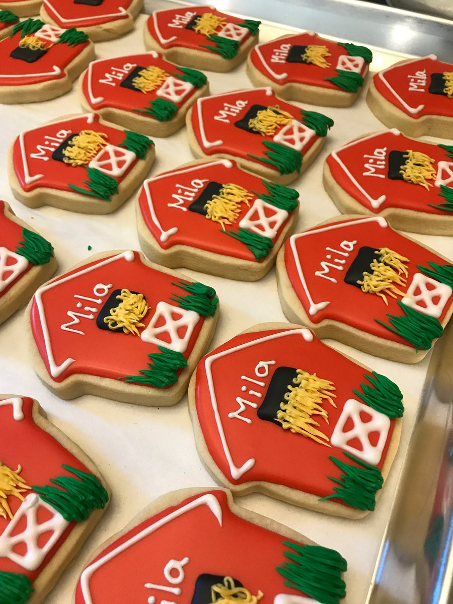 Barn Sugar Cookies, One Dozen